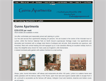 Tablet Preview of gunnsapartments.co.uk